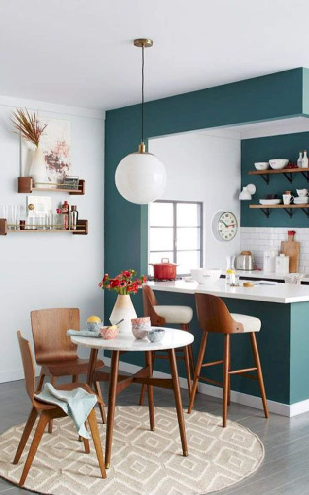 50+ Wall Décor Ideas for 2018 Dining Room Trend (78)