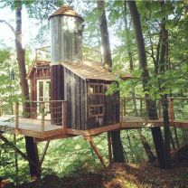 DIY Treehouse For 2018 Summer Times (2)