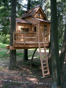 DIY Treehouse For 2018 Summer Times (42)