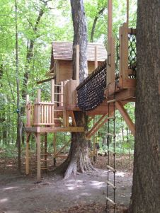DIY Treehouse For 2018 Summer Times (55)