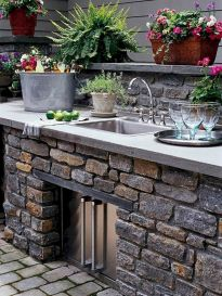 Inspiring Summer Outdoor Kitchen Ideas (19)