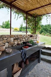 Inspiring Summer Outdoor Kitchen Ideas (39)
