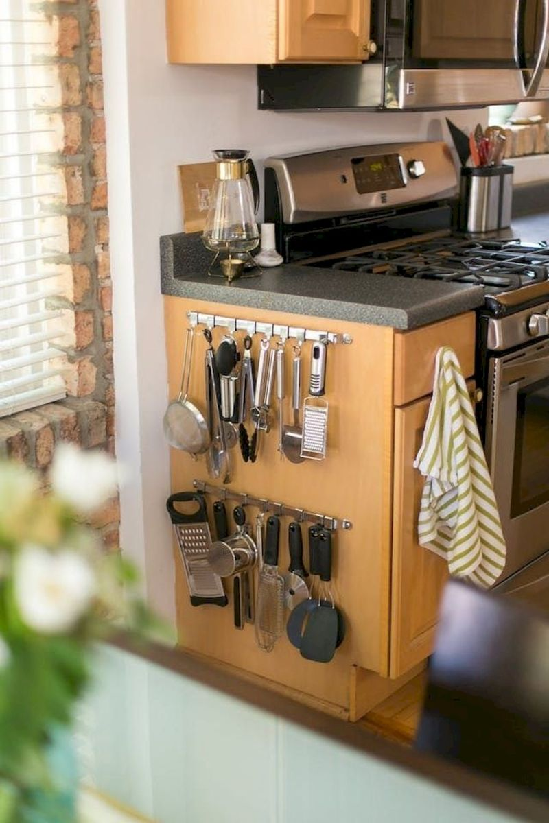 Storage Ideas for Small Kitchens That Look Compact and Efficient (52)