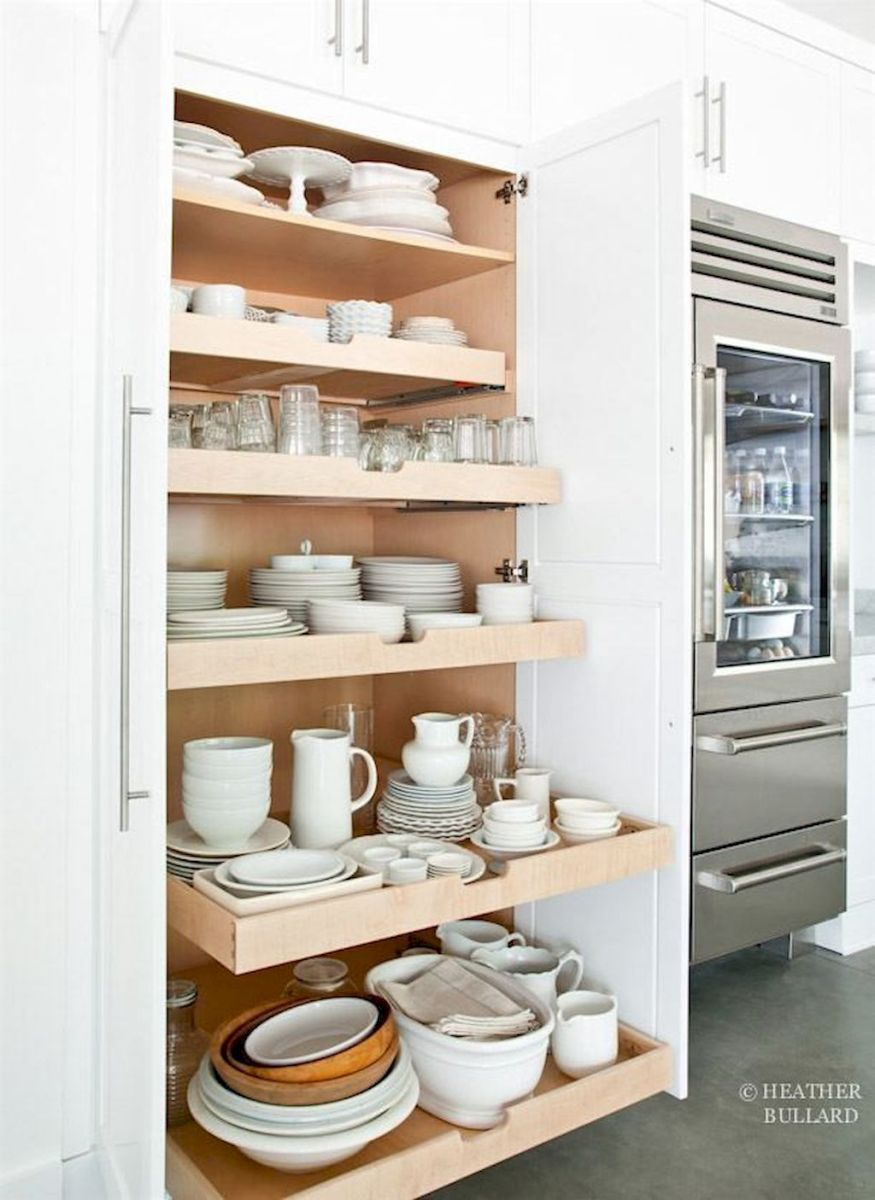 Storage Ideas for Small Kitchens That Look Compact and Efficient (53)