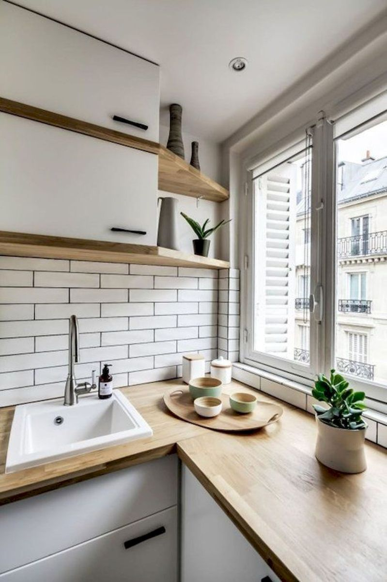 Storage Ideas for Small Kitchens That Look Compact and Efficient (57)