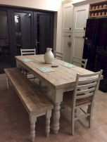 Farmhouse Dining Table Inspirations Part 36