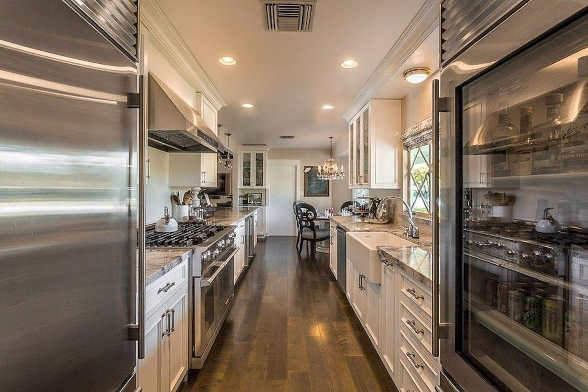 Galley Kitchens Inspirations Part 45