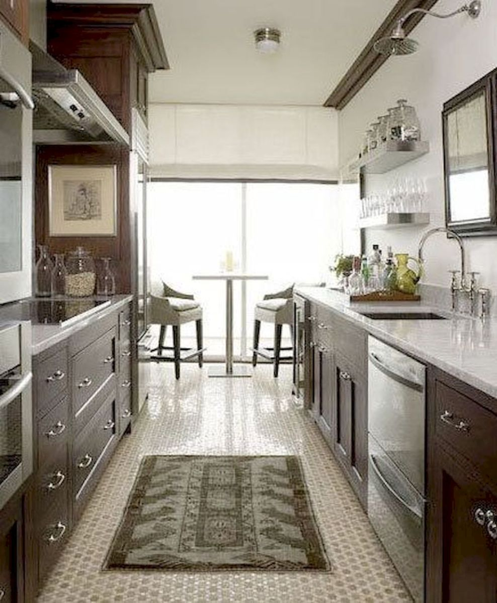 Galley Kitchens Inspirations Part 61