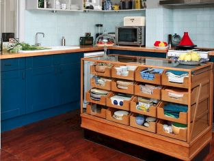 Kitchen Decor Ideas with Small Kitchen Islands Part 10