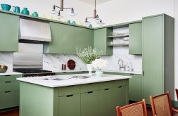Kitchen Decor Ideas with Small Kitchen Islands Part 19