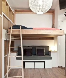 Small Bedroom Layout and Organization Part 18