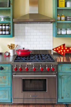 Best Modern Farmhouse Kitchen Coloring Ideas with Creative Farmhouse Kitchen Backsplashes and Colorful Kitchen Decorations Part 2