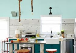 Best Modern Farmhouse Kitchen Coloring Ideas with Creative Farmhouse Kitchen Backsplashes and Colorful Kitchen Decorations Part 26