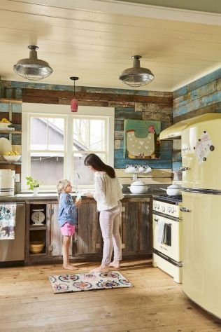 Best Modern Farmhouse Kitchen Coloring Ideas with Creative Farmhouse Kitchen Backsplashes and Colorful Kitchen Decorations Part 5