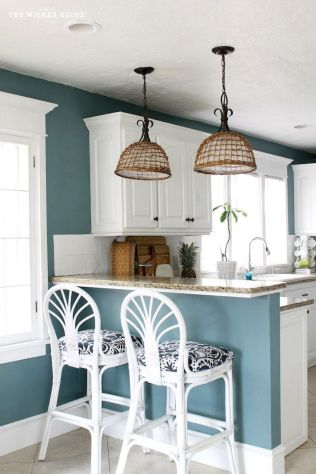 Best Modern Farmhouse Kitchen Coloring Ideas with Creative Farmhouse Kitchen Backsplashes and Colorful Kitchen Decorations Part 6