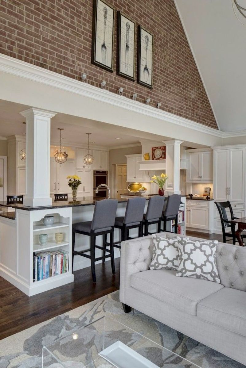 Best Open Kitchen Living And Dining Concepts Perfect For Modern And Traditional Interior Styles (56)