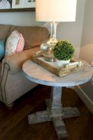 Creative Farmhouse Style Side Table Design Made From Scrap And Reclaimed Materials (25)