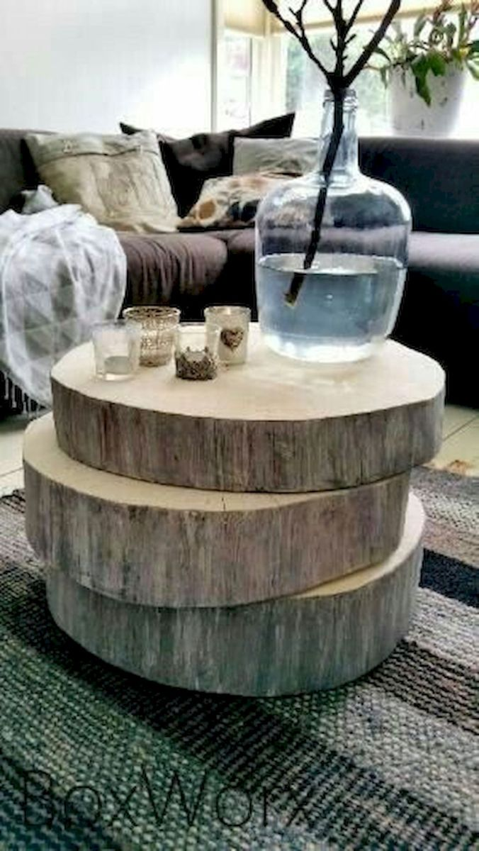 Creative Farmhouse Style Side Table Design Made From Scrap And Reclaimed Materials (36)