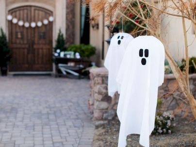 Cute Halloween party decorations for children Part 17
