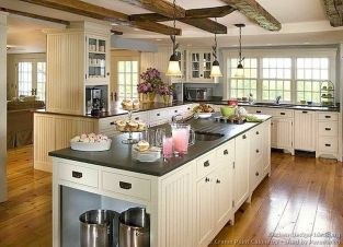 Dual purpose kitchen island that will really safe your space and extra budget as well (14)