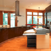 Dual purpose kitchen island that will really safe your space and extra budget as well (19)