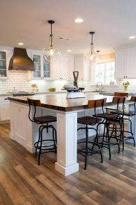 Dual purpose kitchen island that will really safe your space and extra budget as well (28)