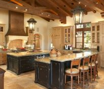 Dual purpose kitchen island that will really safe your space and extra budget as well (31)