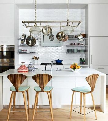 Dual purpose kitchen island that will really safe your space and extra budget as well (4)