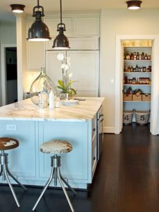 Dual purpose kitchen island that will really safe your space and extra budget as well (7)