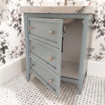 Easy Bathroom Makeover Inspirations with Cheap Decoration and Accessories Part 48