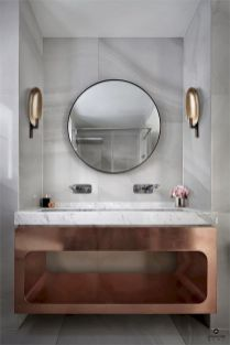 Easy Bathroom Makeover Inspirations with Cheap Decoration and Accessories Part 60