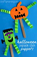 Easy Halloween Crafts and DIY halloween decoration for kids and toddler Part 10