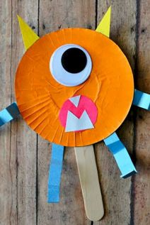 Easy Halloween Crafts and DIY halloween decoration for kids and toddler Part 38