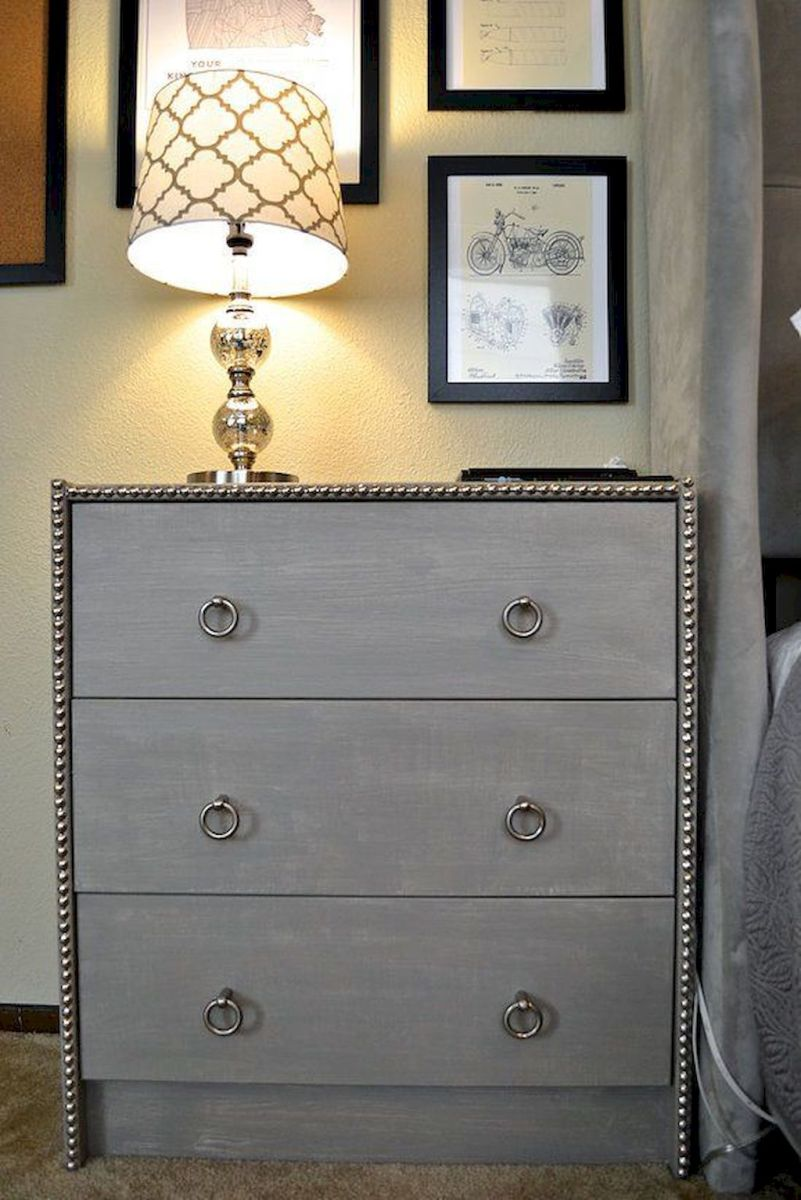 Easy tricks for Nightstand makeover ideas that will makeup the bedroom design Part 14