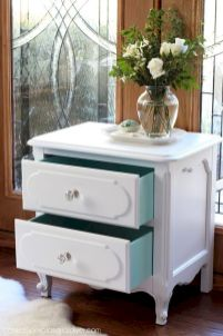 Easy tricks for Nightstand makeover ideas that will makeup the bedroom design Part 18