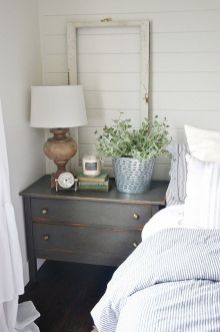 Easy tricks for Nightstand makeover ideas that will makeup the bedroom design Part 25