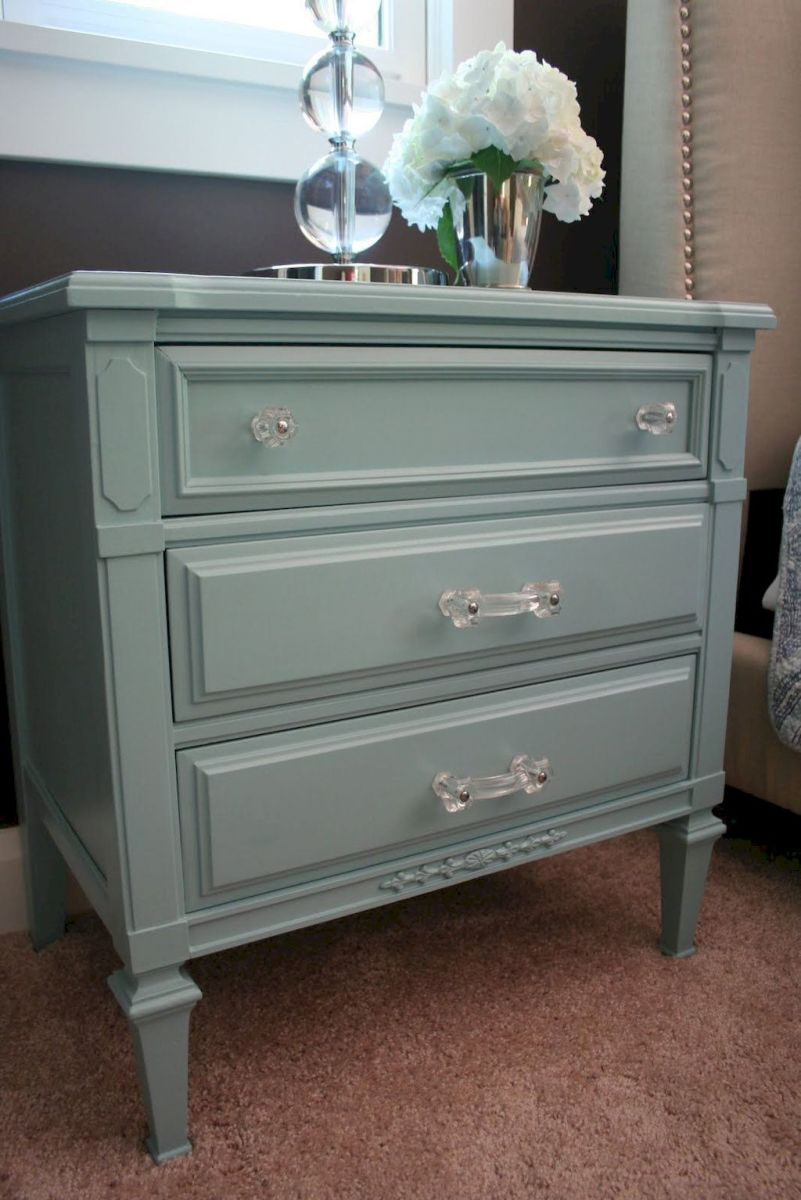 Easy tricks for Nightstand makeover ideas that will makeup the bedroom design Part 30