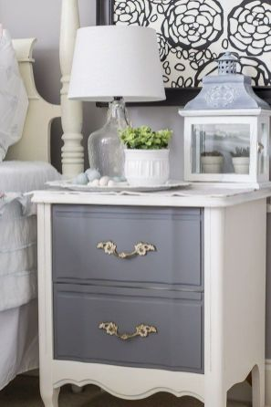 Easy tricks for Nightstand makeover ideas that will makeup the bedroom design Part 36