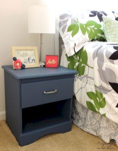 Easy tricks for Nightstand makeover ideas that will makeup the bedroom design Part 43