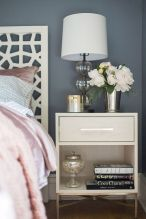 Easy tricks for Nightstand makeover ideas that will makeup the bedroom design Part 48