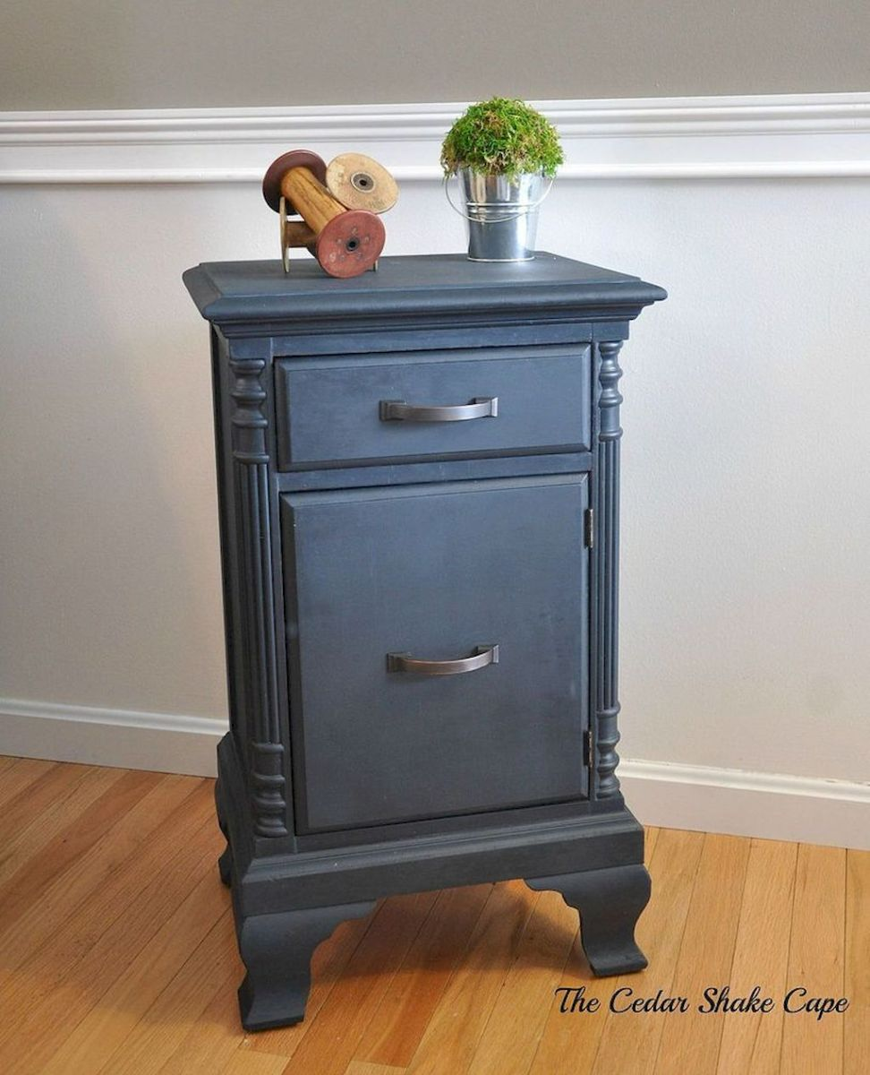 Easy tricks for Nightstand makeover ideas that will makeup the bedroom design Part 51