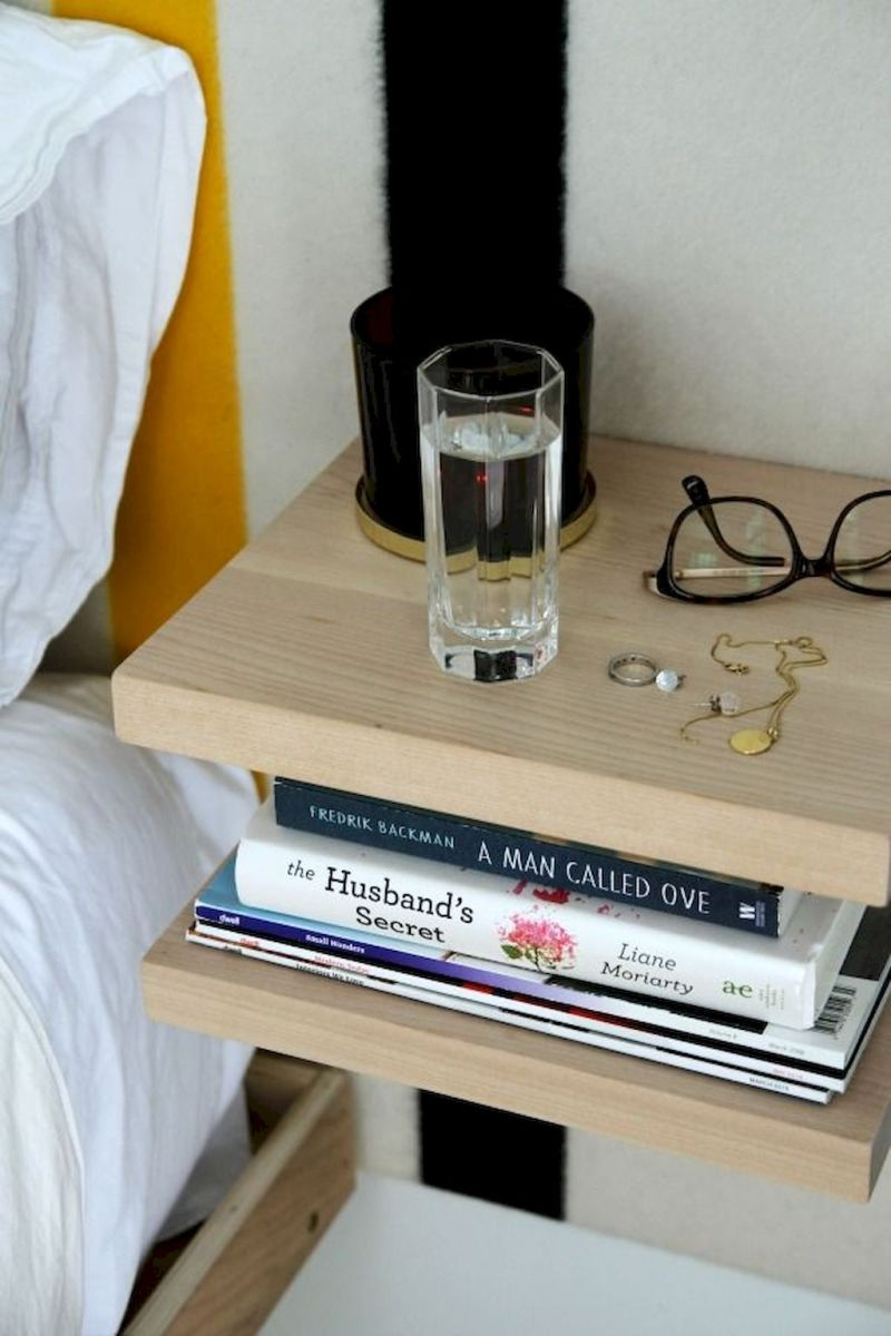 Easy tricks for Nightstand makeover ideas that will makeup the bedroom design Part 55