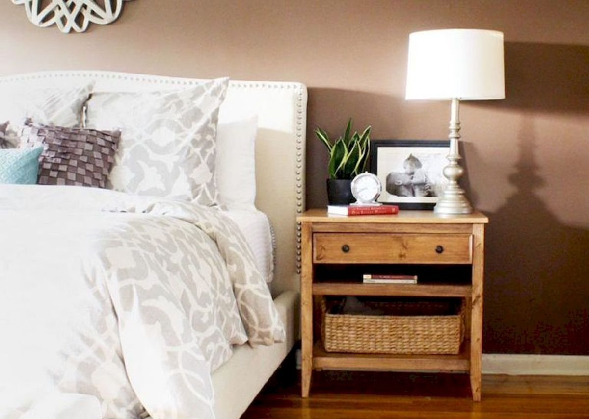 Easy tricks for Nightstand makeover ideas that will makeup the bedroom design Part 65