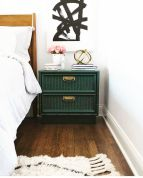 Easy tricks for Nightstand makeover ideas that will makeup the bedroom design Part 66