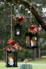 Fall wedding decoration idea with inspiring autumn decoration and fall flowers design Part 31