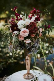 Fall wedding decoration idea with inspiring autumn decoration and fall flowers design Part 43