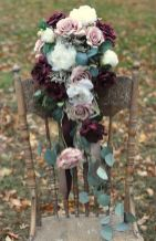 Fall wedding decoration idea with inspiring autumn decoration and fall flowers design Part 56