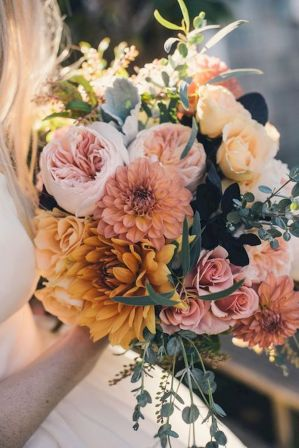 Fall wedding decoration idea with inspiring autumn decoration and fall flowers design Part 65