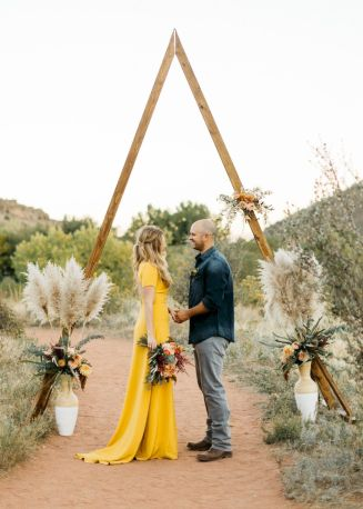 Fall wedding decoration idea with inspiring autumn decoration and fall flowers design Part 70