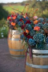 Fall wedding decoration idea with inspiring autumn decoration and fall flowers design Part 77